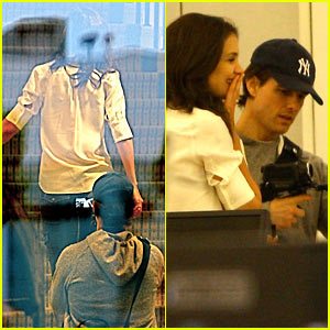 Tom Cruise Videotapes Katie Holmes From Behind