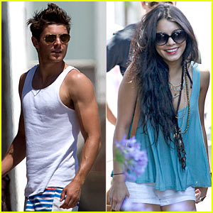 Zac Efron: Fourth of July with Vanessa Hudgens!