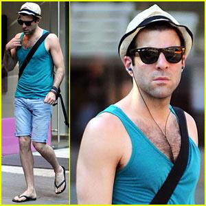 Zachary Quinto: Sant Ambroeus Summer