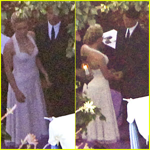 Anna Paquins Wedding Pictures With Stephen Moyer FIRST LOOK