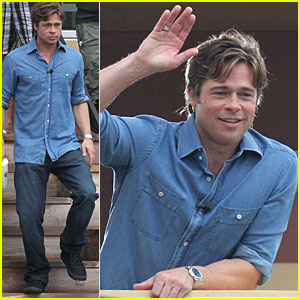 Brad Pitt Makes It Right in New Orleans