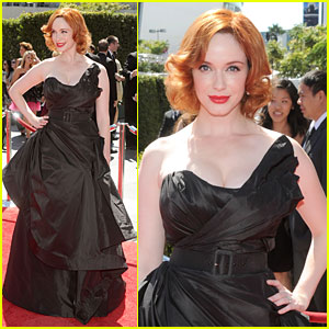 Christina Hendricks: Creative Emmys with Jon Hamm!