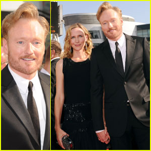 Conan O'Brien: Emmys 2010 Red Carpet