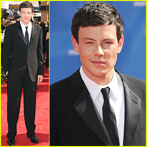 Cory Monteith - Emmys 2010 Red Carpet