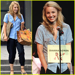 Dianna Agron: Spelling Bee Runner-Up!