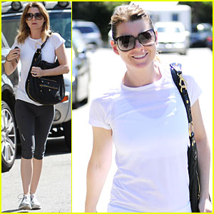 Ellen Pompeo Works It Out
