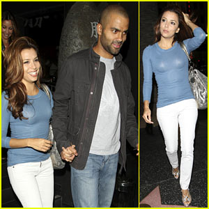 Eva Longoria: Dinner Date with Tony Parker!