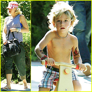 Gwen Stefani & Gavin Rossdale: Party with Kingston!