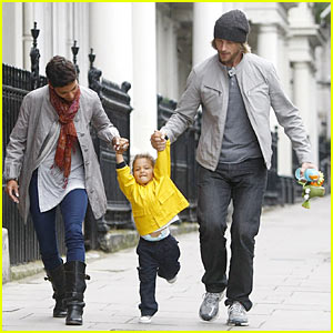 Halle Berry & Gabriel Aubry: Nahla Has London Lift-Off!