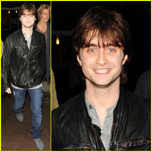 Daniel Radcliffe: Leather-Clad Wizard