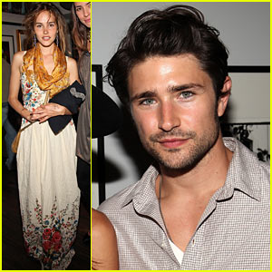 Isabel Lucas & Matt Dallas: Tasya Van Ree Art Exhibition!