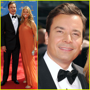 Jimmy Fallon - Emmys 2010 Red Carpet