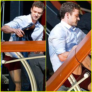 Justin Timberlake: No Pants, Ma!