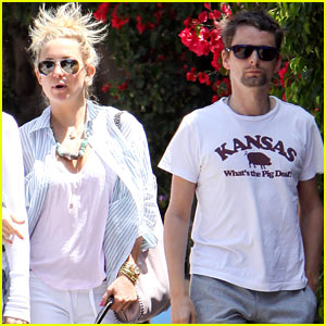 Kate Hudson & Matthew Bellamy: Breakfast Duo