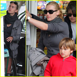 Kate Winslet: Gloucestershire Gas Stop