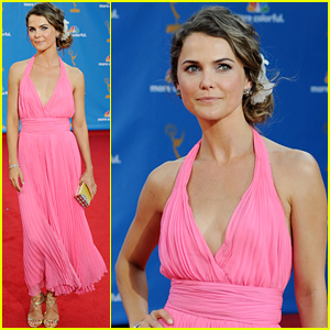 Keri Russell - Emmys 2010 Red Carpet