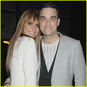 Robbie Williams: Wedding Photos with Ayda Field!