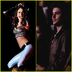 Zac Efron Tips Vanessa Hudgens During 'Rent' Dance
