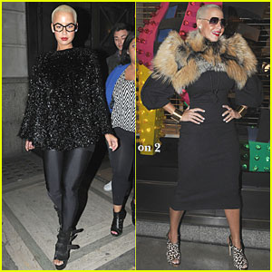 Amber Rose: London Fashion Frenzy
