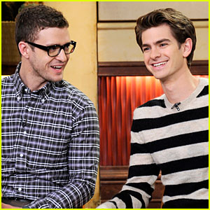 Andrew Garfield & Justin Timberlake: Good Morning America!!!