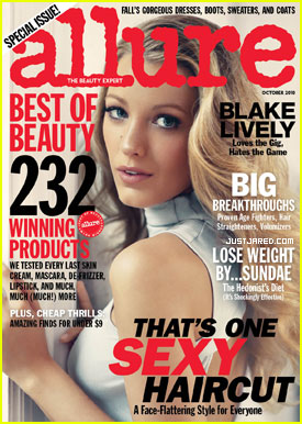 Blake Lively Covers 'Allure' October 2010