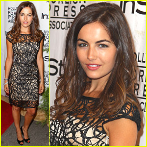 Camilla Belle Parties In Style