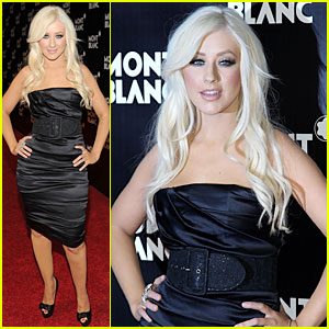 Christina Aguilera Imagines Montblanc Education Initiative
