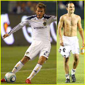 David Beckham: Back In Action with the L.A. Galaxy!