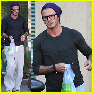 David Beckham: Pinkberry Papa