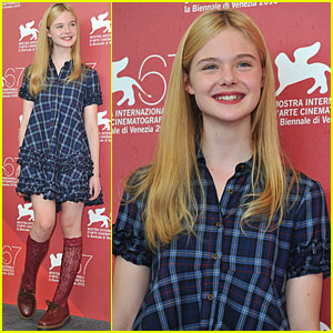 Elle Fanning: 'Somewhere' at Venice Film Festival!