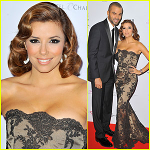 Eva Longoria & Tony Parker's Foundation In France