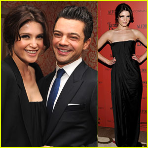 Gemma Arterton & Dominic Cooper: Kissing in the Courtyard
