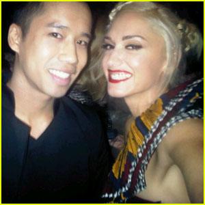 Gwen Stefani + Just Jared = Just Us