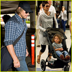 Halle Berry 'Reveals' Herself to Stephen Dorff