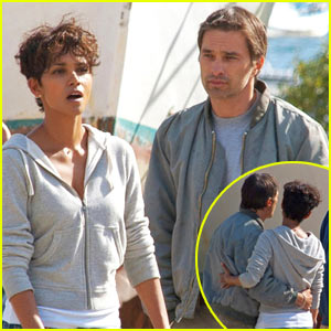 Halle Berry & Olivier Martinez: Kissing Couple | Halle ...