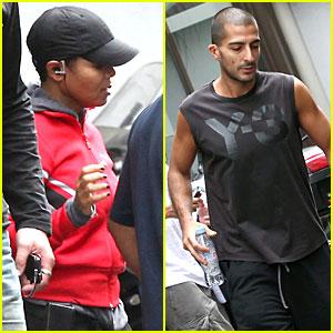 Janet Jackson & Wissam Al Mana: Workout Partners!