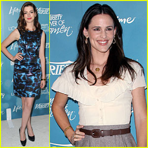 Jennifer Garner: Power of Women Luncheon with Anne Hathaway!