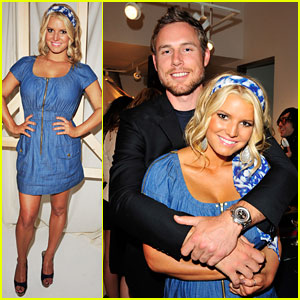 Jessica Simpson Launches Denim Line -- With BF Eric Johnson!