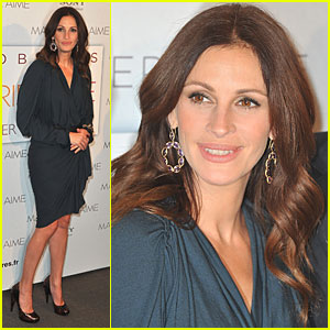 Julia Roberts: 'Eat, Pray, Love' in Paris!