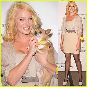 Katherine Heigl Pledges $1 Million to Spay/Neuter Pets