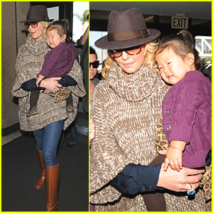 Katherine Heigl: Flight Out of Town with Naleigh!