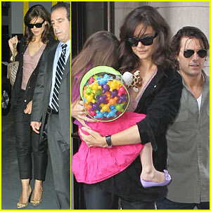 Katie Holmes: Suri Has Great Taste!