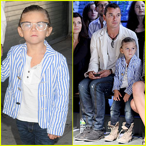 Kingston Rossdale: Edun Front Row at Fashion Week!