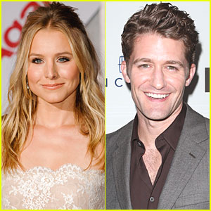 Kristen Bell: I Dated Matthew Morrison!