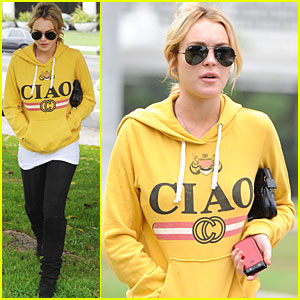 Lindsay Lohan: Ciao, Bella!