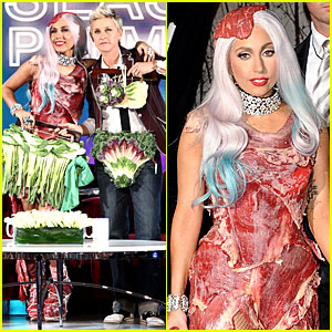 Lady Gaga Explains Meat Dress Meaning