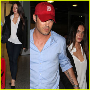 Megan Fox & Brian Austin Green Take It To Toronto