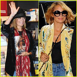 Nicole Richie Hops Three Planes From LA to NY