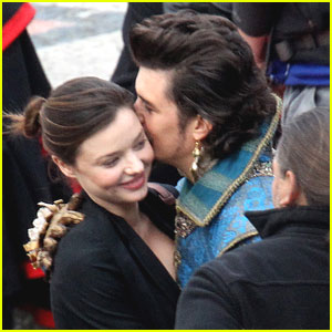Orlando Bloom: 'Musketeers' with Miranda Kerr!