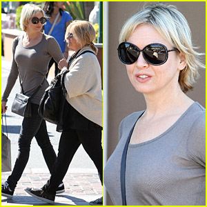 Renee Zellweger Shops With Bradley Cooper's Mom